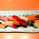 八王子セレオの寿司田。回転寿しじゃない普通の寿司屋さんは久しぶり^^;見た目がとてもさわやかで、美味しかったです。ただ、値段ほどな違いはどうかな。