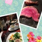 バルバッコア クラシコ 丸の内店でのごはん💕お肉美味しかったよ(◍•ᴗ•◍)