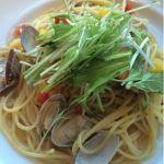CASA 船橋西武メイン料理はボンゴレに。単品でも1300円ぐらいします。