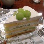 ハーブス なんばパークス店メロンケーキ(^^)季節限定、780円