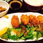 Do-Zo  カキフライ定食