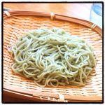 本日のお家ランチ ♪ 越後長岡 小嶋屋さんの「海藻挽きそば」 (^^) #ごちそうフォト