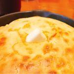 プレーンパンケーキ。パンケーキと言うよりホットケーキっぽい。ふわふわで口どけのいい生地でバターの塩気が効いてて美味しかったー♪熱々で口の中ヤケドしましたーw