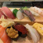 沼津魚がし鮨 流山おおたかの森店  お昼に横綱セットo(^_-)Oこれから映画観に行きます。