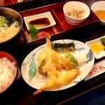 お昼は天王寺の居酒屋 赤のれんで天ぷら定食を頂きました!