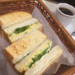 喫茶 アロマ 珈琲 玉子トーストと喫茶