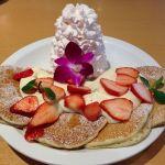 エッグスンシングス 神戸ハーバーランド店  日本上陸5周年記念ハノハノパンケーキ
