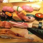 久しぶりに、梅丘寿司の美登利総本店 渋谷店♪やっぱり二人でいつもの板さんお任せシャリ多めに好きなもの単品追加☆