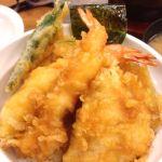 天丼あきば 新橋店天丼390+しじみ味噌汁80