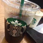 暑い(´・_・`)(´・_・`)とりあえずアイスコーヒーでクールダウン♡