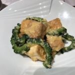 四川豆花飯荘 東京店   キビまる豚と苦瓜のゴーヤチャンプル風炒め   さすがお豆腐がウリ。具材はゴーヤチャンプルですがまろやかで美味しかった。