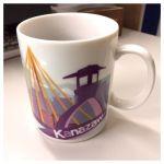 金沢ご当地マグカップ【番外編】ご当地のマグカップ好きです(^^)。朝のコーヒーの気分が変わりますね。(^O^)問題はマグカップが溜まって邪魔な事です(^_^;)