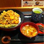 つな八 名古屋丸栄デリカ店にやって来ました。かき揚げ天丼 ¥798