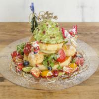 季節限定「クリスマスツリーパンケーキ」アクイーユが12/1発売