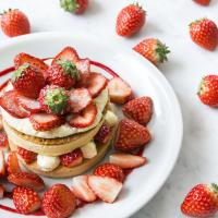 【J.S.パンケーキカフェ】いちご300%増量パンケーキも登場「いちごづくしの春のフェア」3/2から