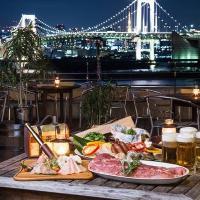 【お台場ビアガーデン】レインボーブリッジ×東京タワーを望む『テラスBBQ&ビアガーデン』スタート