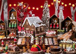 ヒルトン東京お台場デザートブッフェ「ミニチュア・クリスマスマーケットの世界」開催
