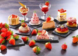 【ホテル日航大阪】「苺のスイーツオーダーブッフェ」&「苺づくしのアフタヌーンティーセット」