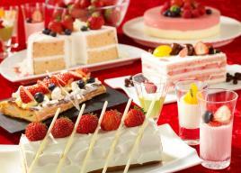 【浦和ロイヤルパインズホテル】フレッシュ苺食べ放題付き「ストロベリーデザートブッフェ」開催