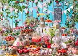「いちごに恋するガーデンパーティー」~ストロベリーデザートブッフェ~ヒルトン東京お台場