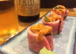 [東京]極上「ウニ肉巻き」が食べられる店