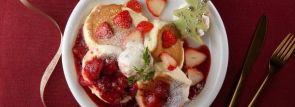 小樽で大人気パンケーキ「ドレモルタオ」より新作『ミルク・ストロベリー』クリスマス期間限定バージョンも