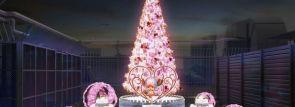東京ワンピースタワーのクリスマス!『冬に咲く、奇跡の桜』をイメージしたイルミネーション12/1から