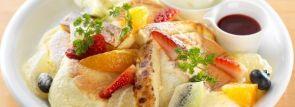 ジューシーで爽やかなパンケーキ「フルーツ&カタラーナ」新登場~北海道ドレモルタオ