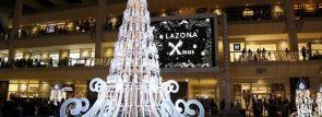 光と音がコラボした3Dサウンド感動イルミ!ラゾーナ川崎プラザ クリスマスイルミネーション2014