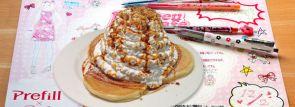 パンケーキ食べ放題の「ポップティーンカフェ」でランチョンマットにラクガキしちゃおう!