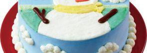 ひんやり可愛いスノーマンのデコレーション!ベン&ジェリーズのクリスマスアイスケーキ