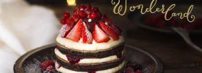 """J.S.パンケーキカフェ""""ひんやり冷たい 新食感""""苺とマスカルポーネのフローズンパンケーキ"""