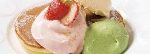 デニーズのパンケーキがさらに美味しくリニューアル!春の新作『桜のパンケーキ』も登場