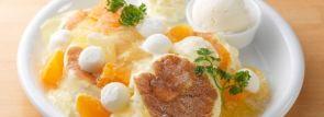 今が旬!5種のシトラスを満喫するパンケーキ「シトラス・クインテット」登場~北海道ドレモルタオ