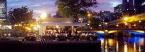 夏を先取り!緑豊かな都心のオアシス、大阪・中之島公園バラ園にビアガーデン4/5オープン