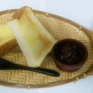 あんバタートースト(450円)