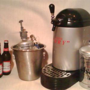 2ℓ、3ℓ、最後迄冷たくクリーミーな味を自分の適量で注げます。