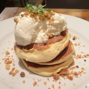 The French Toast Factoryシフォンパンケーキ