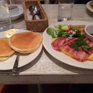Pancake&Cafe Egg's Terrace初めて食事系パンケーキを食べたお店