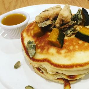 Clinton Street Baking Company Tokyo Japanese Pumpkin Pancakes  (MONTHLY SPECIALS)