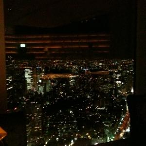 夜景素敵~\(^o^)/MUSEUM CAFE MADO LOUNGE