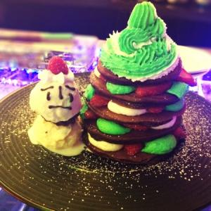 KAWAII MONSTER CAFE HARAJUKU#Xmasパンケーキ