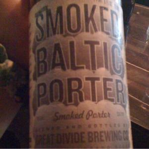 SHIMEJI Ⅱ GREAT DIVIDE:SMOKED BALTIC PORTER