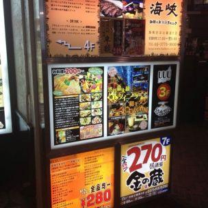 腹八分目 渋谷公園通り店とは