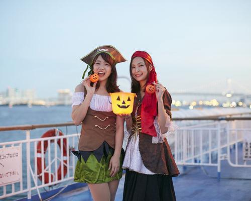 秋の夜は海賊スタイルで船上クルーズ!東京納涼船でハロウィーン企画9/19から
