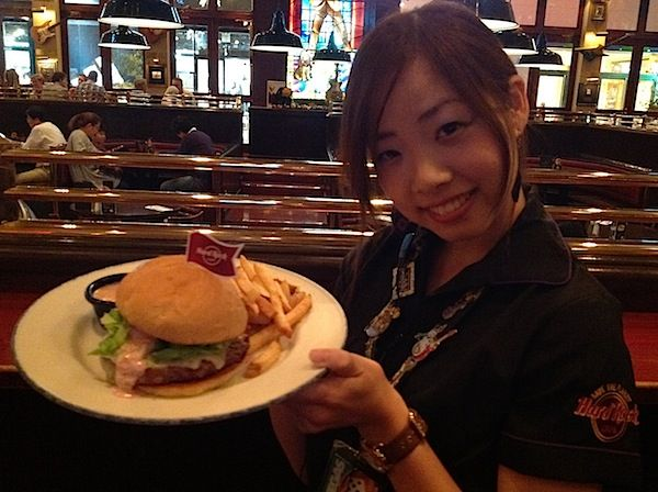 2013/10/20 福岡市中央区Hard Rock Cafe Fukuoka