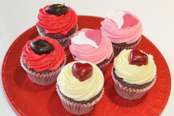 ローラズ・カップケーキ「バレンタイン・カップケーキ」