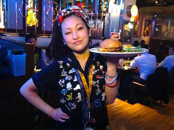 26都道府県97店舗目 大阪本町Hard Rock Cafe Osaka