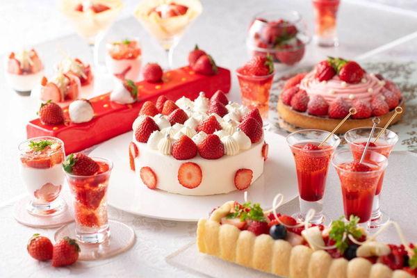 """横浜ベイシェラトンホテル&タワーズ""""Sweets Parade""""~あまおうフェア~"""