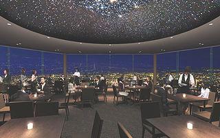 もいわ山展望台内ドームシアター「スターホール」
